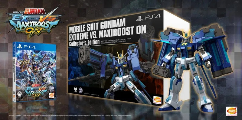 PS4 MOBILE SUIT GUNDAM EXTREME VS MAXIBOOST ON COLLECTORS EDITION REG.3