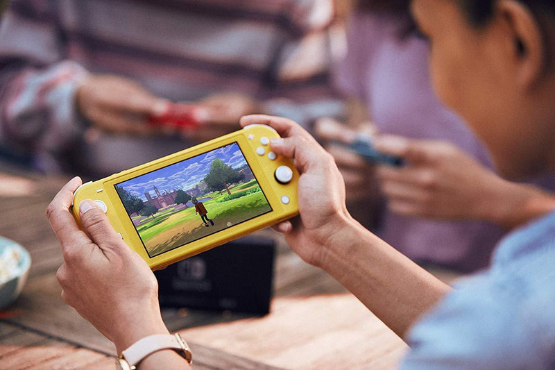 NINTENDO SWITCH LITE CONSOLE YELLOW