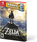NSW THE LEGEND OF ZELDA BREATH OF THE WILD BONUS TRAVELERS GUIDE (US)