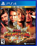 PS4 FIRE PRO WRESTLING WORLD DAY ONE EDITION ALL