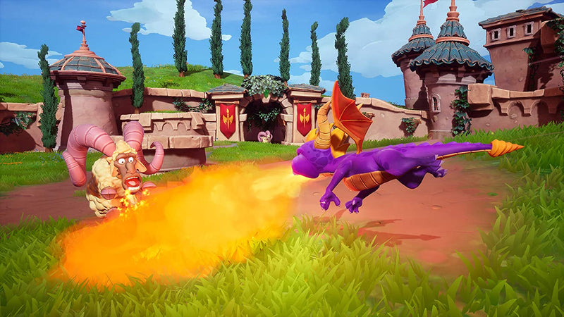 PS4 SPYRO REIGNITED TRILOGY ALL