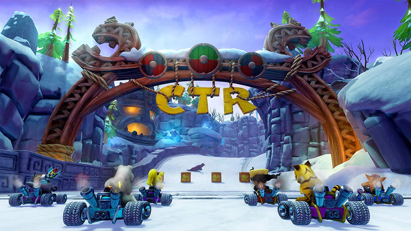 PS4 CRASH TEAM RACING NITRO FUELED ALL