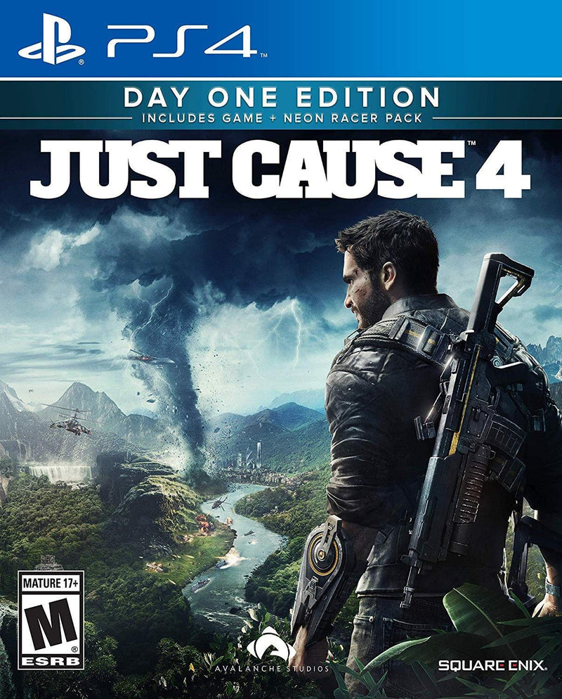 PS4 JUST CAUSE 4 DAY ONE EDITION ALL