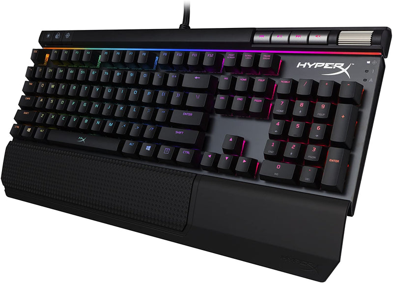 HYPERX ALLOY ELITE RGB MECHANICAL GAMING KEYBOARD (BLUE SWITCH)