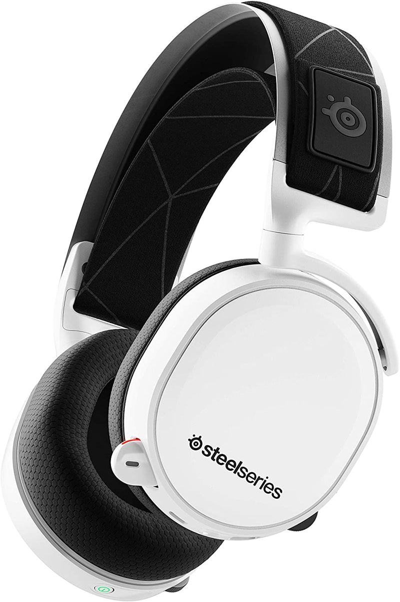 STEELSERIES ARCTIS 7 LOSSLESS WIRELESS GAMING HEADSET 2019 EDITION WHITE (PN61508)