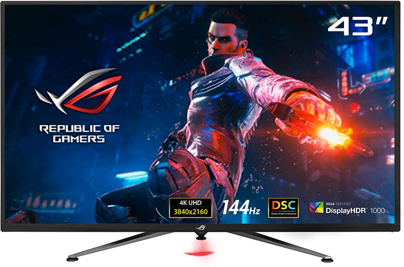 ASUS ROG SWIFT PG43UQ 43-INCH 4K DSC GAMING MONITOR