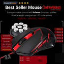 REDRAGON GAMING ESSENTIALS KEYBOARD & MOUSE 2 IN 1 SET (S101-3)