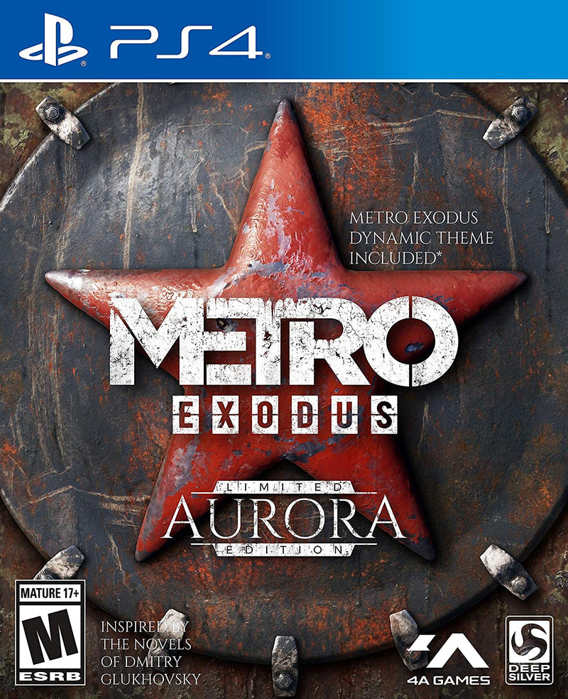 PS4 METRO EXODUS AURORA LIMITED EDITION ALL