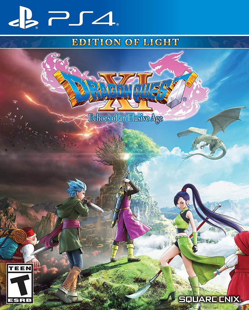 PS4 DRAGON QUEST XI ECHOES OF AN ELUSIVE AGE EDITION OF LIGHT ALL (ENG/SP)