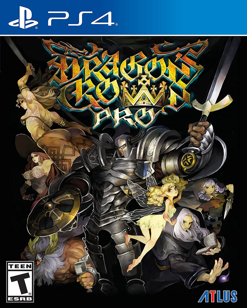 PS4 DRAGONS CROWN PRO BATTLE-HARDENED EDITION ALL