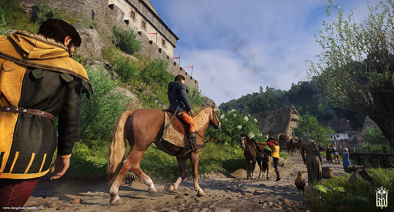PS4 KINGDOM COME DELIVERANCE ROYAL EDITION ALL (ENG/FR)