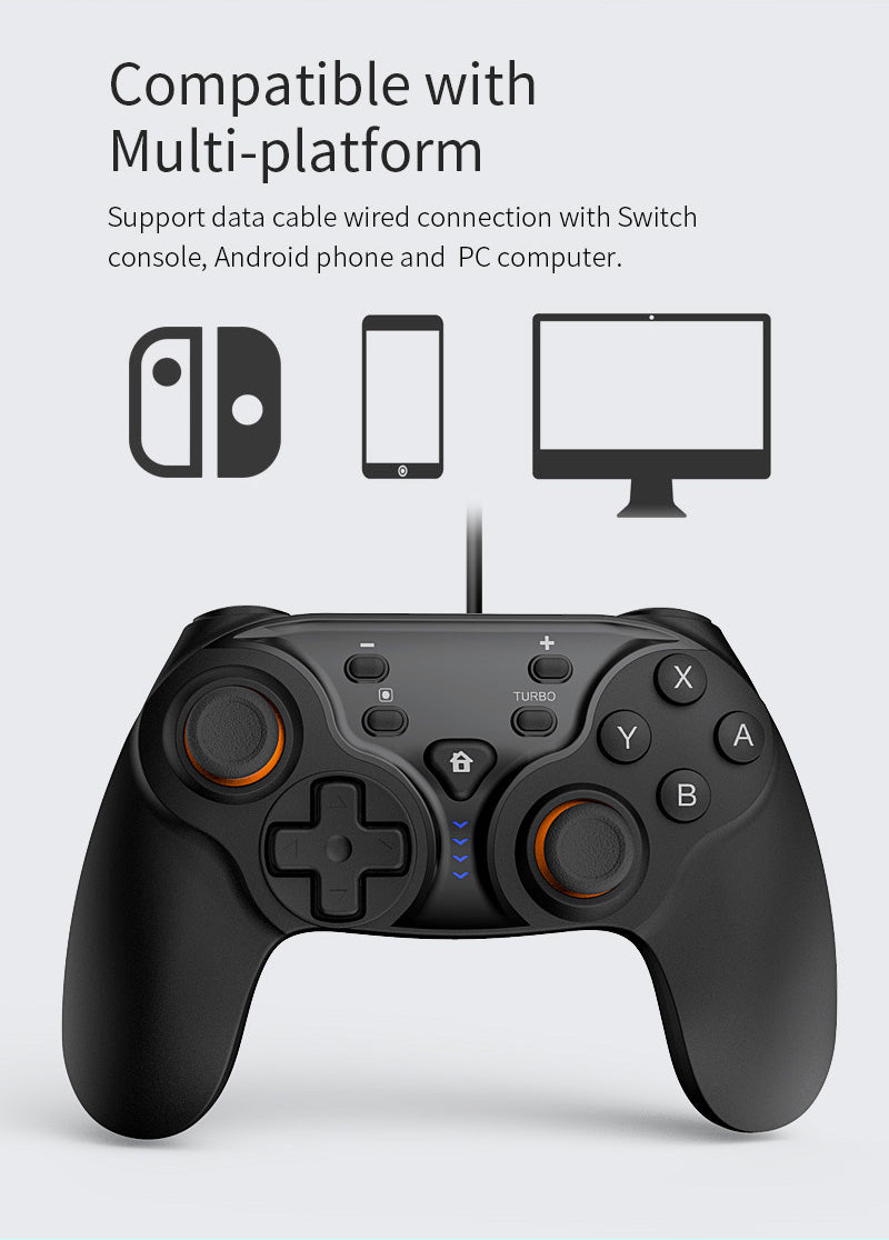 DOBE NSW WIRELESS CONTROLLER FOR NINTENDO SWITCH / ANDROID / PC (TY-1793)