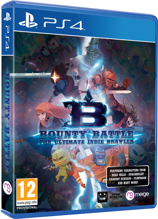 PS4 BOUNTY BATTLE THE ULTIMATE INDIE BRAWLER REG.2