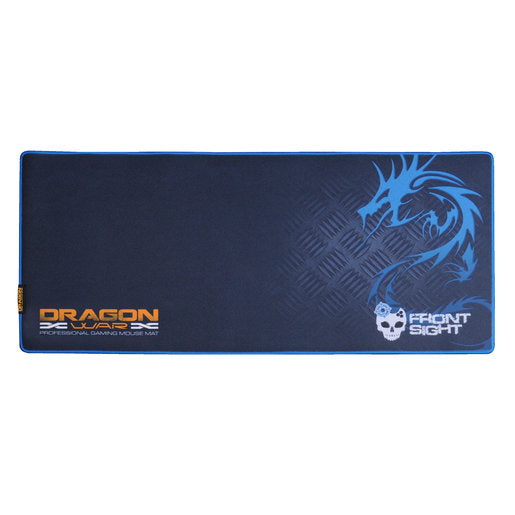 DRAGONWAR FRONT SIGHT KEYBOARD PAD + MOUSE PAD 2 IN 1 COMPLETE SET (XL) (GP-012 BLUE)