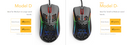 GLORIOUS MODEL D MINUS GAMING MOUSE (MATTE BLACK)