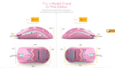 GLORIOUS MODEL O GAMING MOUSE SPECIAL EDITION (MATTE PINK)