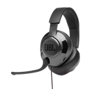 JBL QUANTUM 300 HYBRID WIRED OVER-EAR GAMING HEADSET WITH QUANTUMSURROUND & FLIP-UP MIC (BLACK)