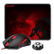 REDRAGON M601-BA MOUSE & MOUSEPAD 2 IN 1 SET (M601-BA)