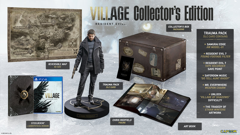 PS4 RESIDENT EVIL VIII: VILLAGE COLLECTORS EDITION PRE-ORDER DOWNPAYMENT