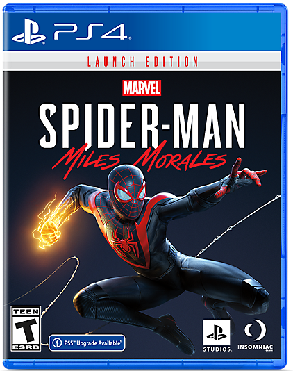 PS4 MARVEL SPIDER-MAN MILES MORALES LAUNCH EDITION ALL