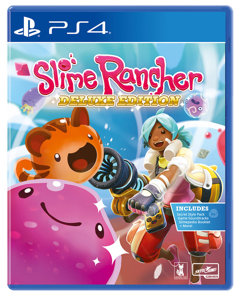 PS4 SLIME RANCHER DELUXE EDITION ALL