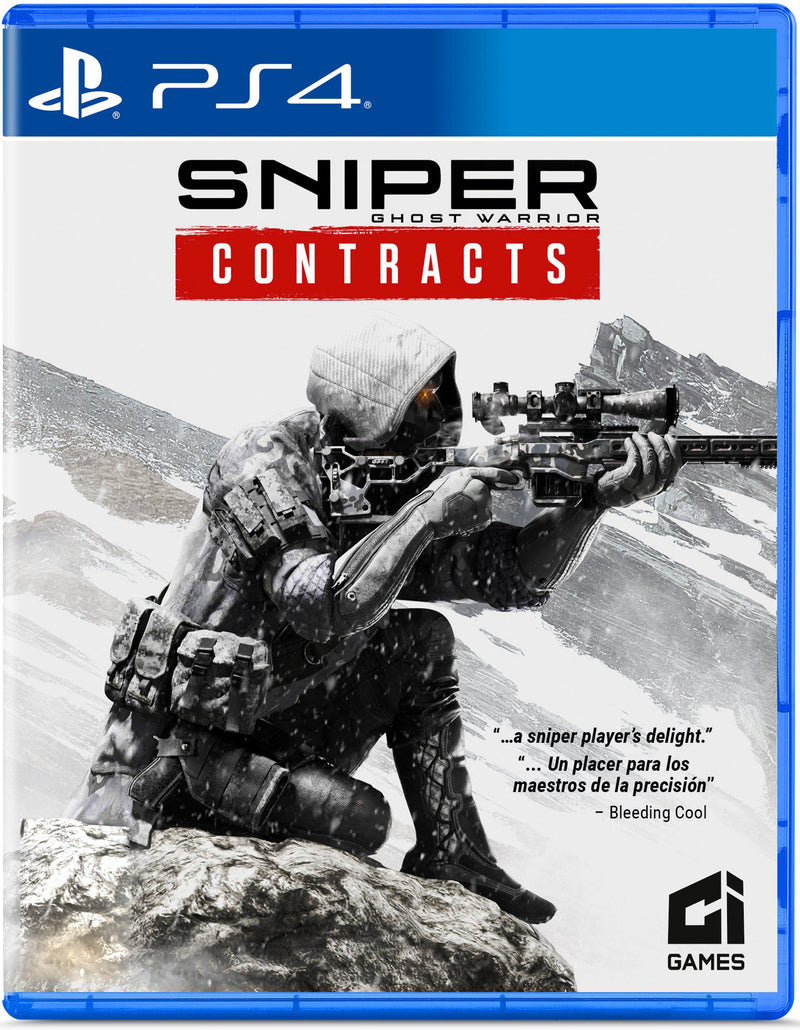 PS4 SNIPER GHOST WARRIOR CONTRACTS REG.3 (ENG/CHI VER)