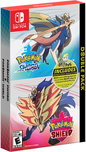 NSW POKEMON SWORD & POKEMON SHIELD DOUBLE PACK (MDE)