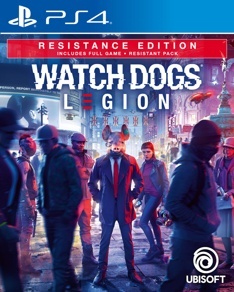 PS4 WATCH DOGS LEGION RESISTANCE EDITION REG.3