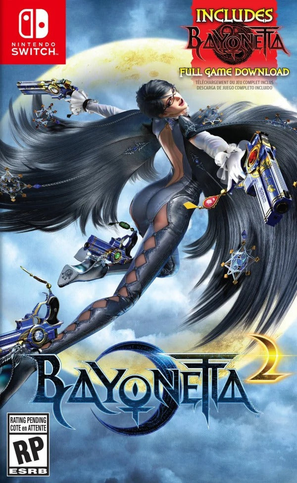 NSW BAYONETTA 2 INCLUDES BAYONETTA FULL GAME DOWNLOAD (US)