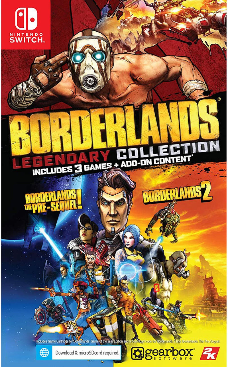 NSW BORDERLANDS LEGENDARY COLLECTION (US)