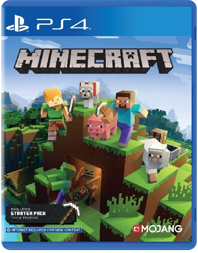 PS4 MINECRAFT (INCLUDES STARTER PACK) REG.3