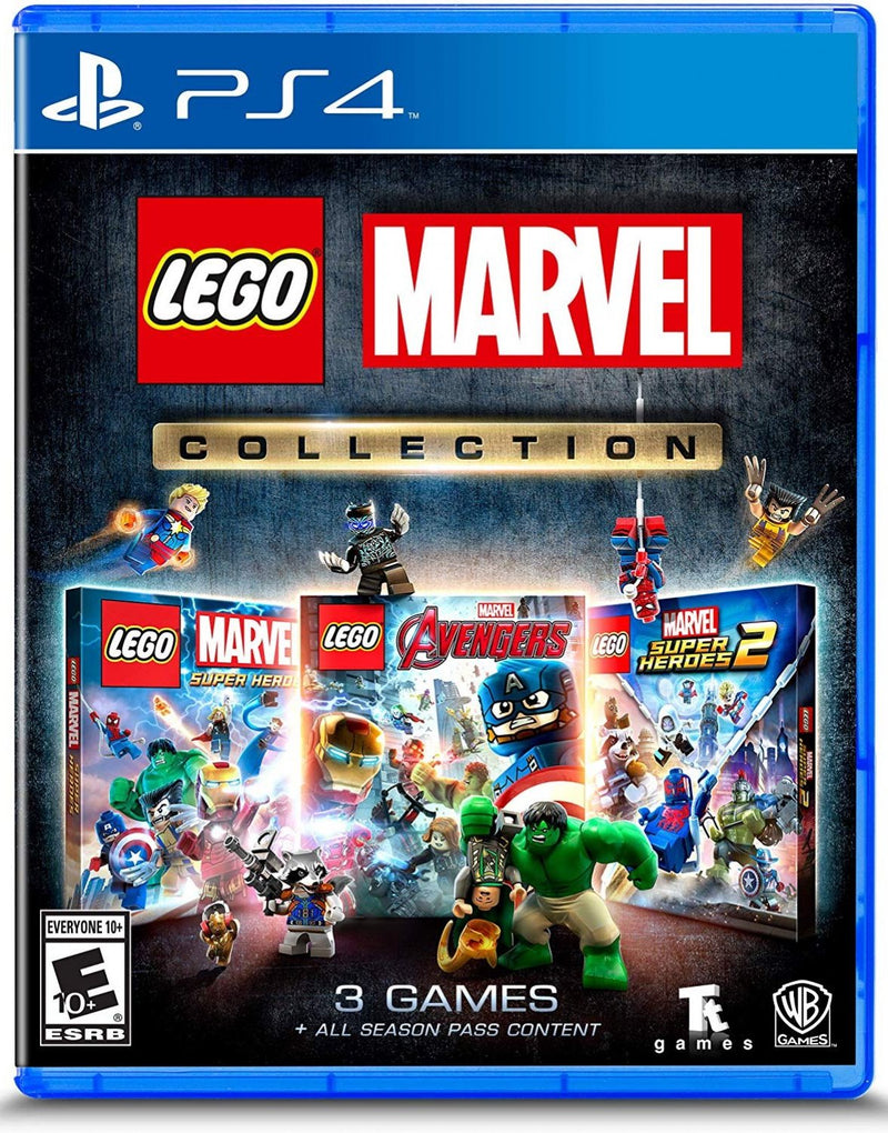 PS4 LEGO MARVEL COLLECTION ALL