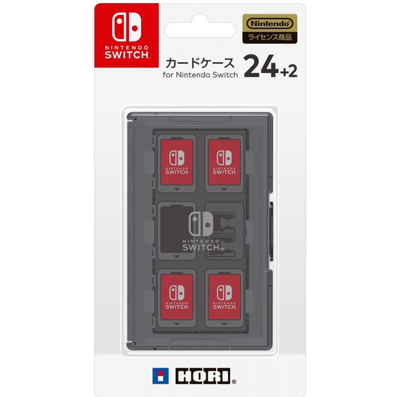 HORI NSW CARD CASE 24 + 2 BLACK (NSW-025)