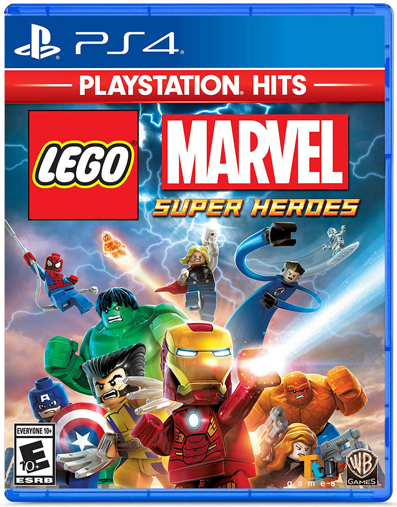 PS4 LEGO MARVEL SUPER HEROES (ALL) PLAYSTATION HITS