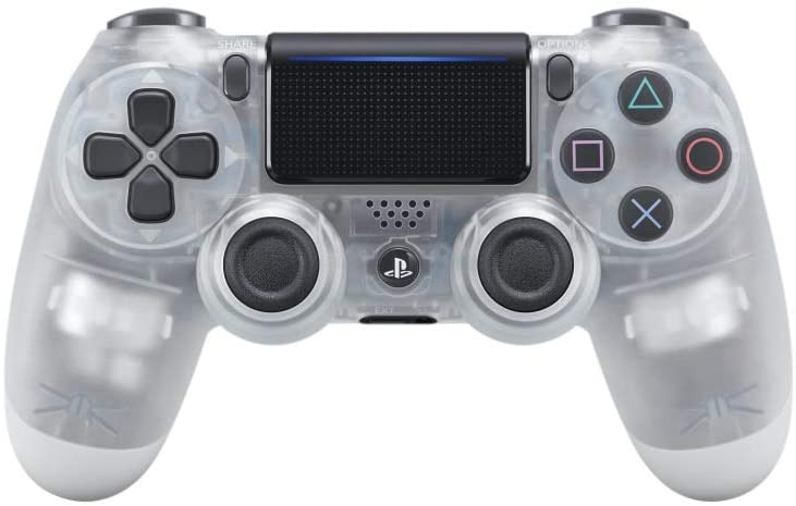 PS4 DUALSHOCK 4 WIRELESS CONTROLLER CRYSTAL (US) (CUH-ZCT2U)