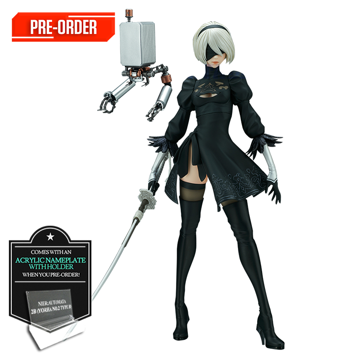NIER: AUTOMATA 2B REISSUE BY FLARE FIGURINE (YORHA NO. 2 TYPE B) DELUXE VERSION PRE-ORDER DOWNPAYMENT