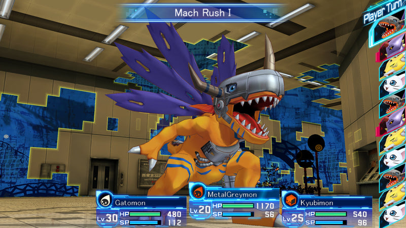 PS4 DIGIMON STORY CYBER SLEUTH ALL (ENG/SP/FRENCH)