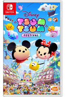 NSW CONSOLE (NEON RED/BLUE) + LABO KIT TOY-CON 02 ROBOT KIT + DOBE PROTECTIVE PACK (TNS-18110) + NSW-DISNEY TSUM TSUM FESTIVAL (ASIAN)