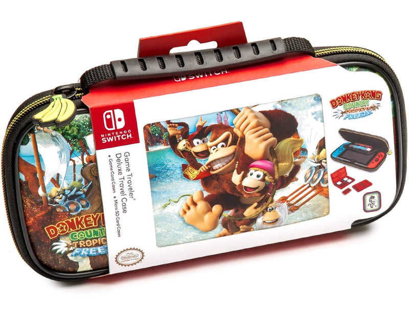 NSW GAME TRAVELER DELUXE TRAVEL CASE DONKEY KONG COUNTRY TROPICAL FREEZE (NNS52A)