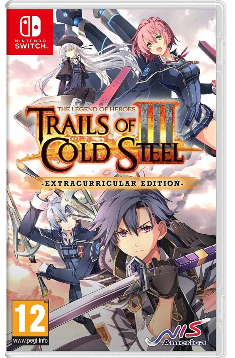 NSW THE LEGEND OF HEROES TRAILS OF COLD STEEL III EXTRACURRICULAR (EU)