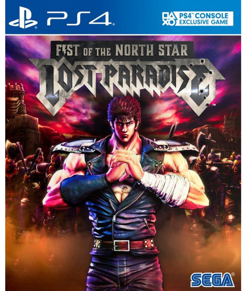 PS4 FIST OF THE NORTH STAR LOST PARADISE (ENG VER) REG.3