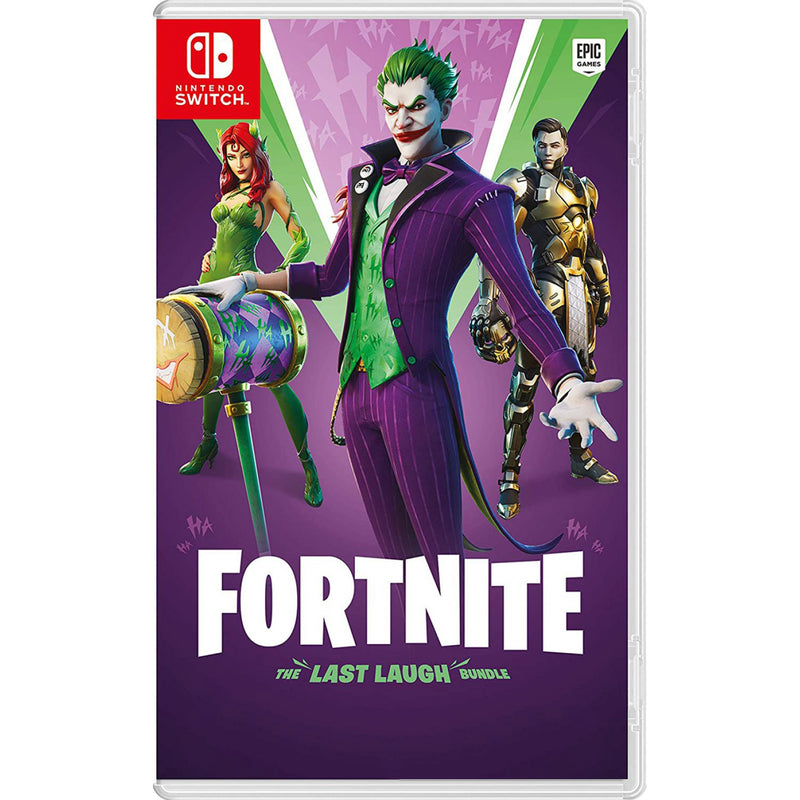 NSW FORTNITE THE LAST LAUGH BUNDLE (DOWNLOAD CODE ONLY) (US)