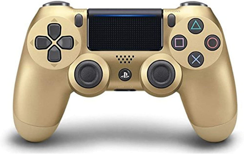 PS4 DUALSHOCK 4 WIRELESS CONTROLLER GOLD ASIAN (CUH-ZCT2G14)