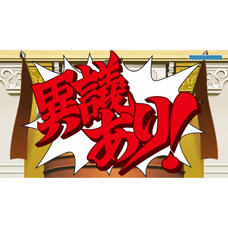 NSW PHOENIX WRIGHT ACE ATTORNEY TRILOGY (ENG/JAP)