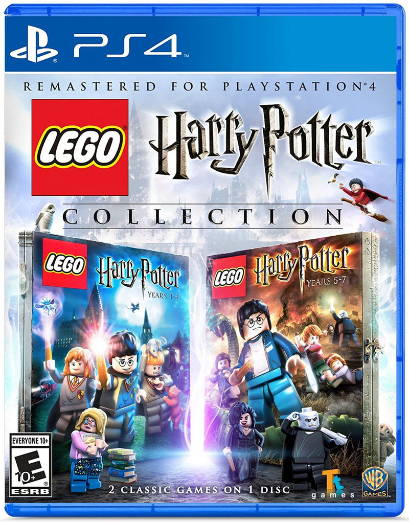 PS4 LEGO HARRY POTTER COLLECTION ALL