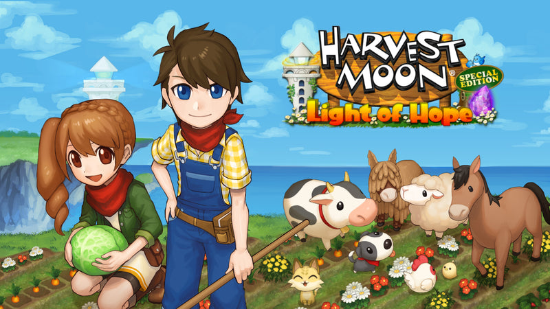 NSW HARVEST MOON LIGHT OF HOPE SPECIAL EDITION (US) (ENG/FR)