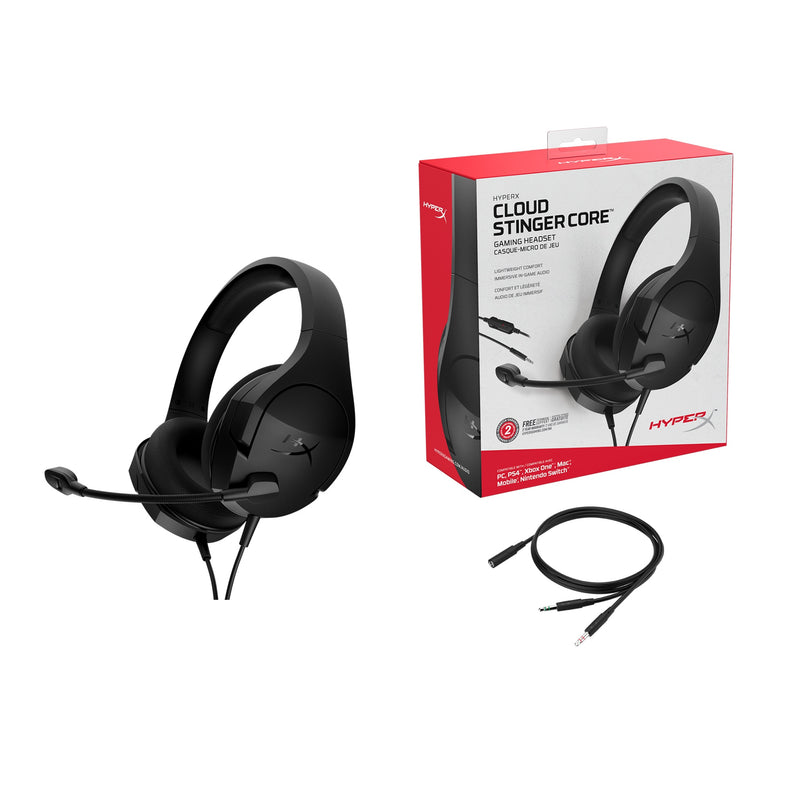 HYPERX CLOUD STINGER CORE GAMING HEADSET FOR PC/PS4/XB1/MAC/MOBILE/NSW