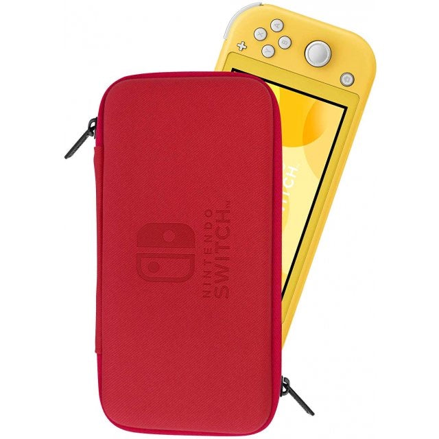 HORI NSW LITE SLIM HARD POUCH (RED) (NS2-049)