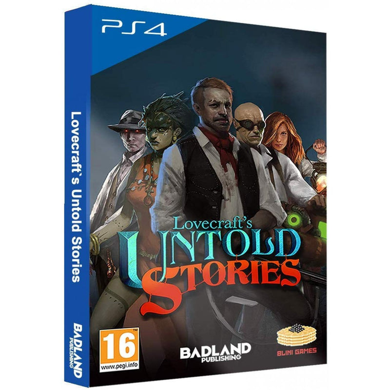 PS4 LOVECRAFTS UNTOLD STORIES COLLECTORS EDITION REG.2