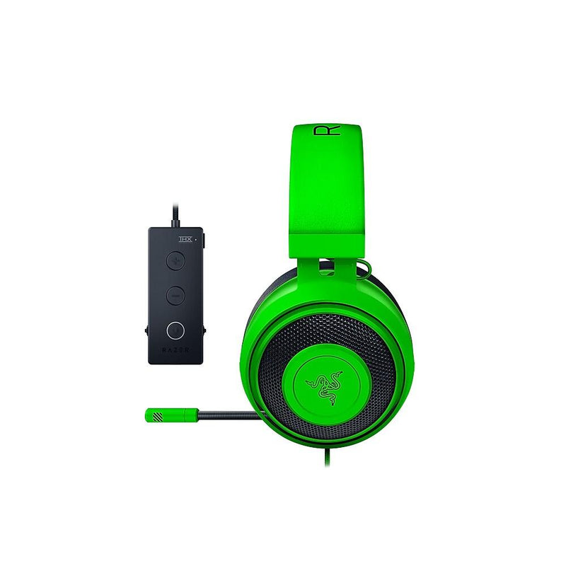 RAZER KRAKEN TOURNAMENT EDITION WIRED GAMING HEADSET WITH USB AUDIO CONTROLLER (GREEN)